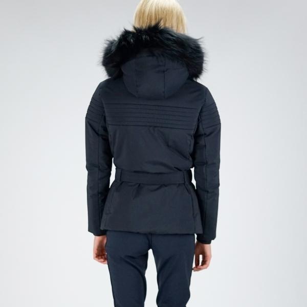 Fusalp Naja Fur Ii Womens Jacket In Navy Fusalp Womens