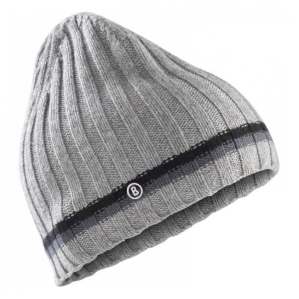 de7d5218f74 Bogner Peer Mens Ski Hat in Light Grey