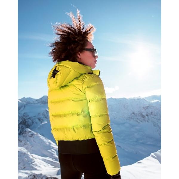 Goldbergh Kohana Ski Jacket In Yellow Womens Ski Wear By