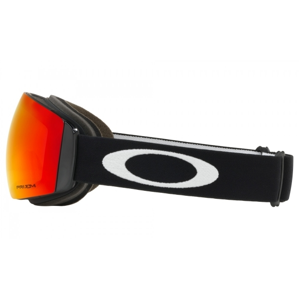 abc2ef15e5 Oakley Flight Deck XM Ski Goggle Matte Black with Prizm Torch Iridium
