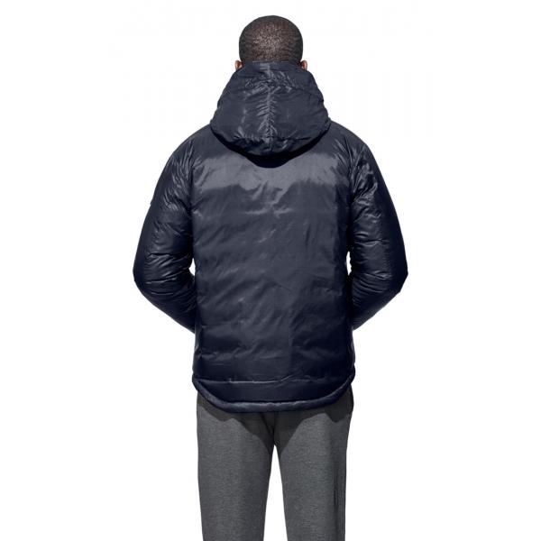 Canada Goose Lodge Hoody Mens Jacket In Blue Black
