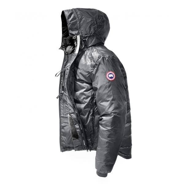 Canada Goose Lodge Hoody Mens Jacket In Graphite