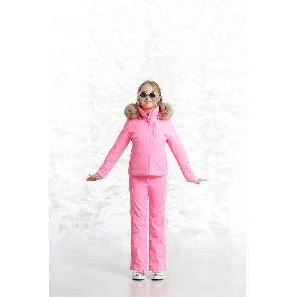 50ba9d74b Poivre Blanc Ada Girls Ski Jacket in Punch Pink