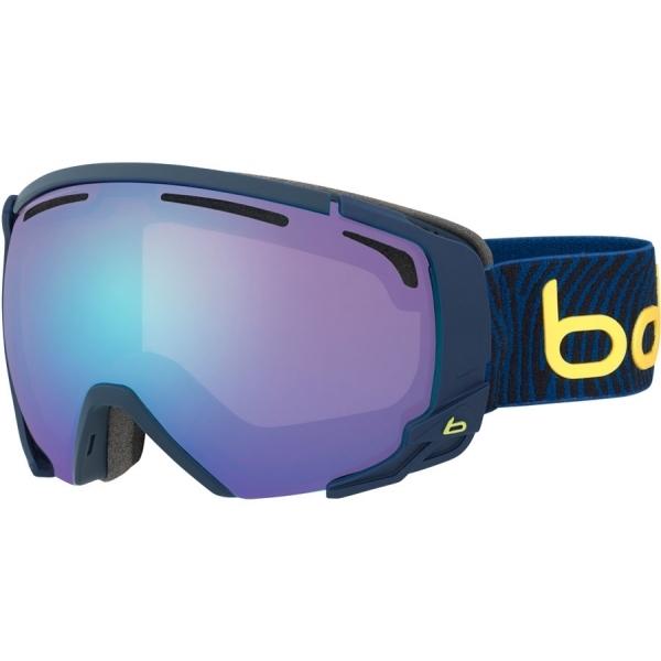 5eba9df91bdf Bolle Supreme OTG Ski Goggle in Matte Blue Yellow With Aurora Lens
