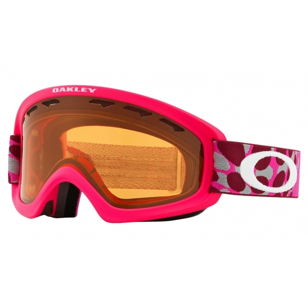 de538b93d0ae Oakley O Frame 2.0 XS Ski Goggle in OctoFlow Coral Pink with Persimmon