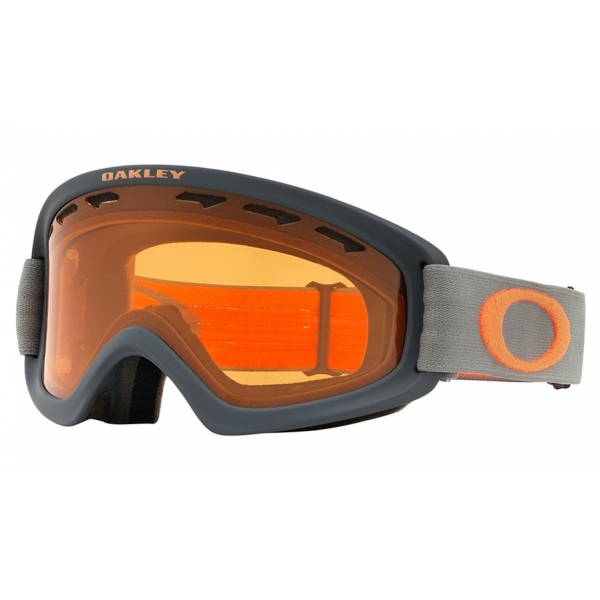 bfd1c16804 Oakley O Frame 2.0 XS Ski Goggle in Forged Iron Brush with Persimmon