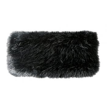 Barts Fur Headband in Black