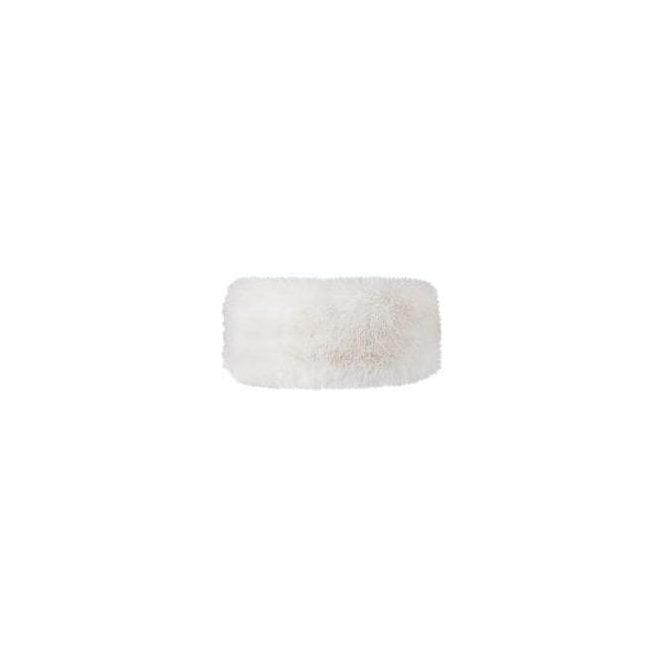 BARTS Fur Headband in White