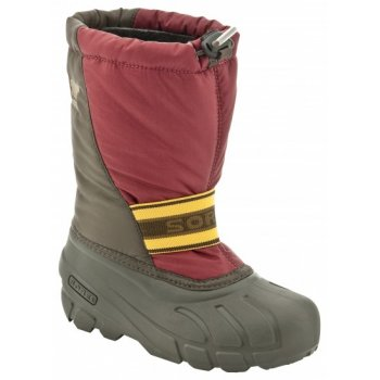 Sorel Cub Kids Winter Boots in Red
