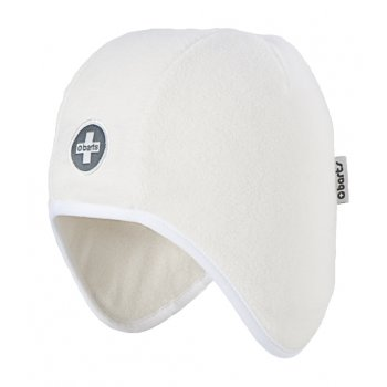 BARTS Beck Beanie Kids Ski Hat in White