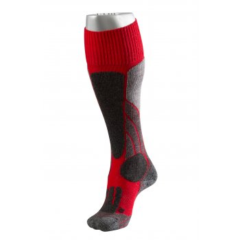 Falke SK1 Red Mens Ski Socks
