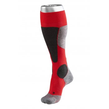 FALKE SK4 Mens Ski Socks in Lipstick Red