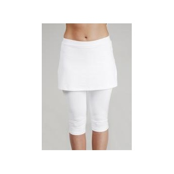 Poivre Blanc Fool Capri Skirt in White