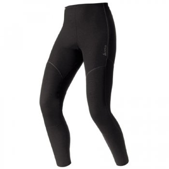 Odlo X-Warm Pants Long Womens Baselayer in Black