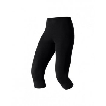 Odlo Warm 3/4 Pant Womens Baselayer In Black