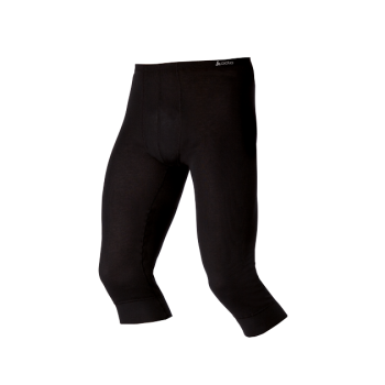 Odlo Warm 3/4 Pant Mens Baselayer  In Black