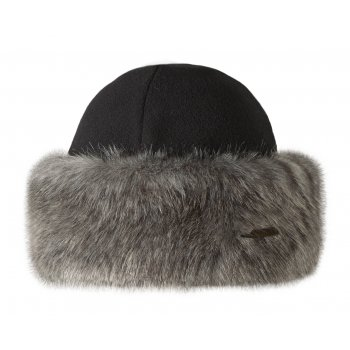 Barts Fur Bandhat Ski Hat in Grey