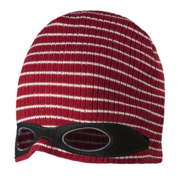 Barts Disguise Beanie in Dark Red