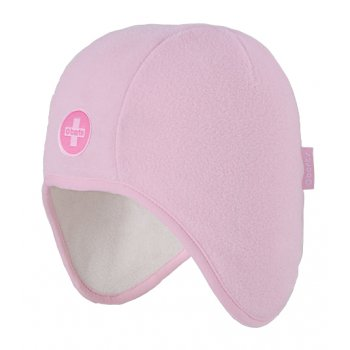 Barts Beck Beanie Kids Ski Hat in Pink