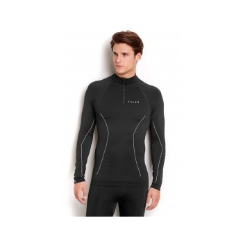 Falke Comfort Longsleeved Shirt Mens Ski Thermals in Black