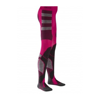 Falke Skiing Tights Kids Ski Sock in Berry