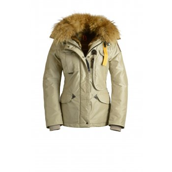 Parajumpers Denali Womens Down Winter Coat in Sand