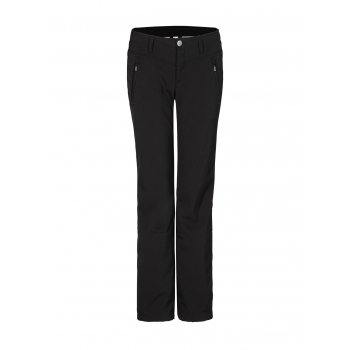 Bogner Nikka Womens Softshell Fitted Ski Pant in Black