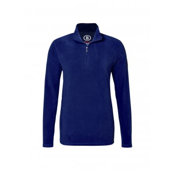 Bogner Tuxeck Mens Micro Fleece Top in Blue