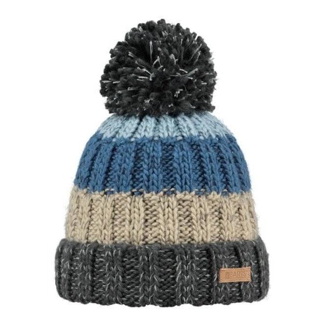 BARTS Wilhelm Beanie Ski Hat in Charcoal
