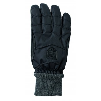 Hestra Ski Gloves Hestra Swisswool Merino Loft Ski Gloves in Black