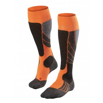 Falke SK2 Mens Ski Socks in Orange
