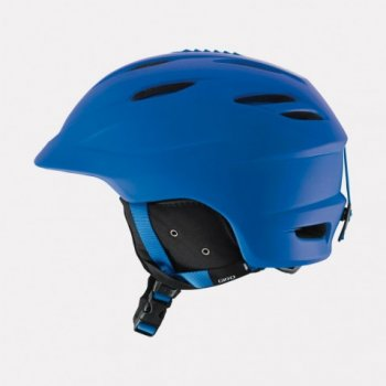 Giro Seam Mens Ski Helmet in Matte Blue