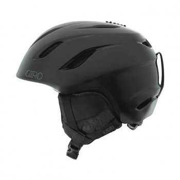 Giro Era Womens Ski Helmet in Black Porcelain