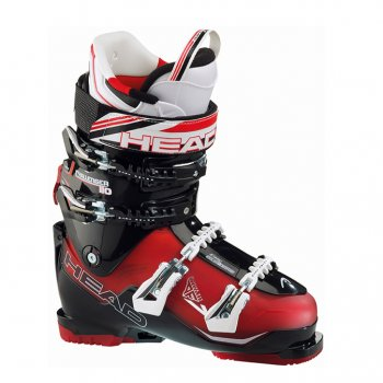 Head Ski Head Challenger 110 Mens Ski Boot in Red/Black