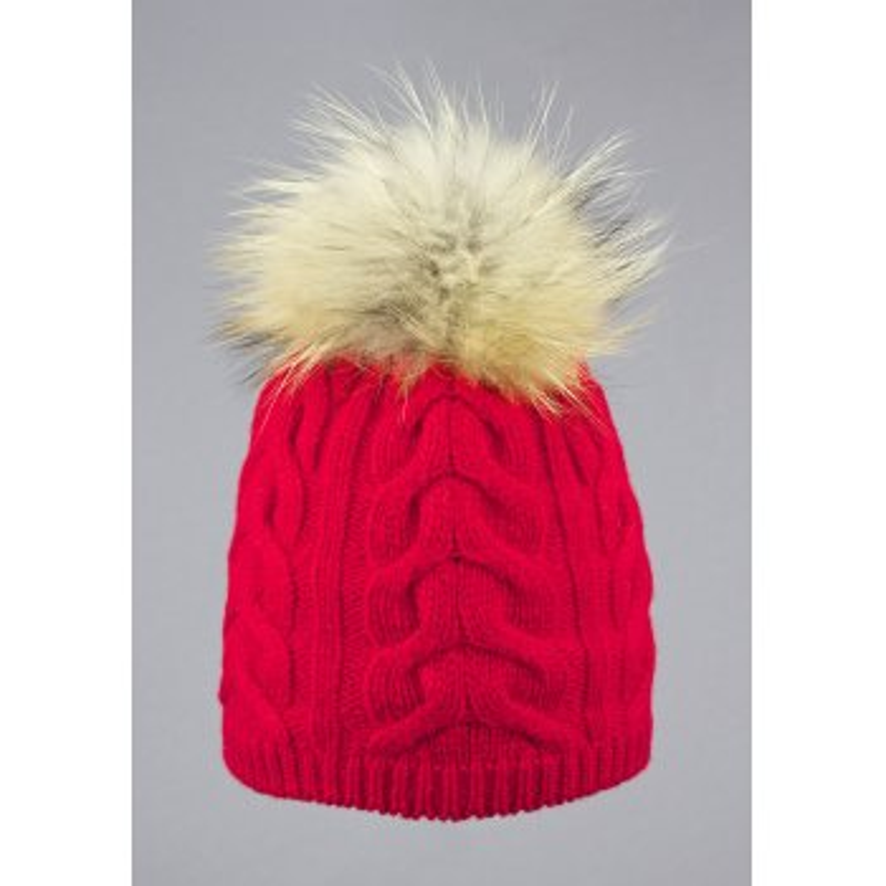 STEFFNER Cindy Womens Ski Hat In Red