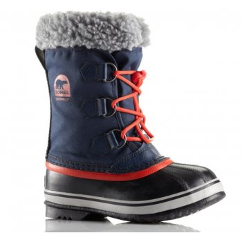 Sorel Yoot Pac Nylon Kids Snow Boot In Collegiate Navy
