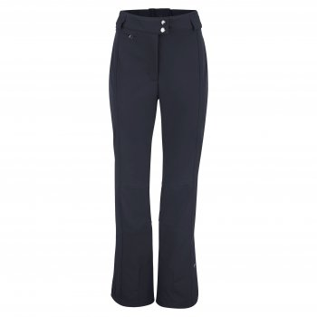 Poivre Blanc Womens Stretch Ski Pant in Navy