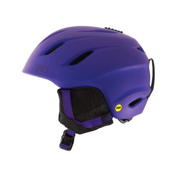 Giro Era MIPS Womens Ski Helmet in Matte Purple Mosaic