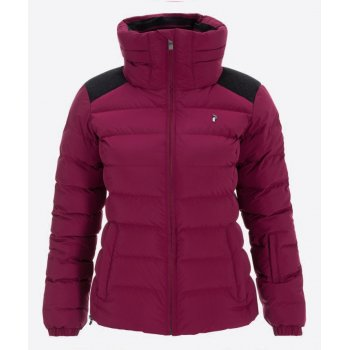 Peak Performance Supreme Megeve Womens Ski Jacket in Dark Orchid