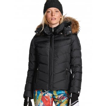 Bogner Sally D Ski Jacket Premium Trim Edition in Black