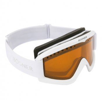 Bogner Snow Goggles Polarized in White
