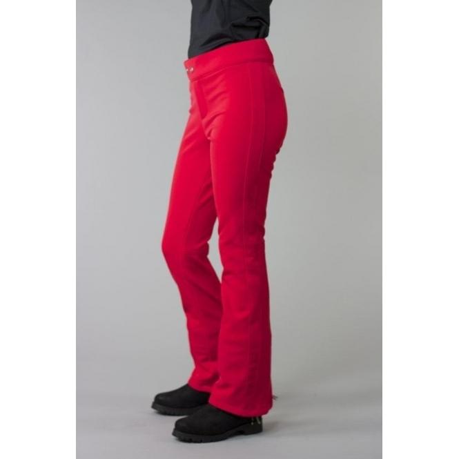 BOGNER Emilia Fitted Ski Pant in Red