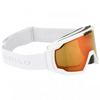 Indigo Snow Goggles Edge in White