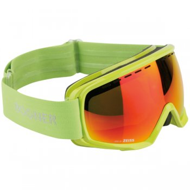 BOGNER Snow Goggles Monochrome Lime