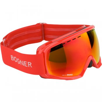 Bogner Snow Goggles Monochrome Red