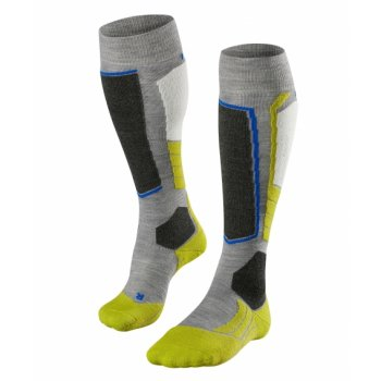 Falke SK2 Mens Ski Socks in Grey Heather