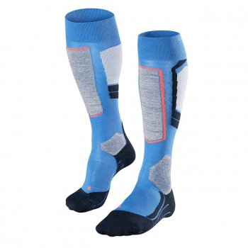 Falke SK1 Womens Ski Socks In Muscari Blue