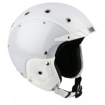 Indigo Carbon Ski Helmet in White