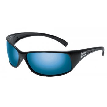 Bolle Recoil Shiny Black / Polarized Off Shore Blue Lens