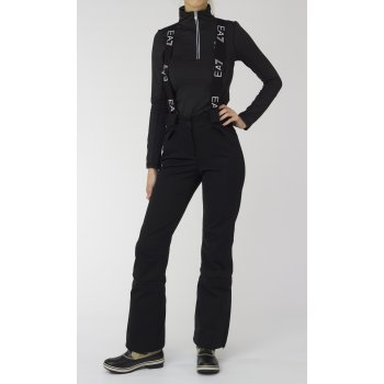 Armani Ea7 Softshell Womens Ski Pant in Black